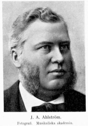 Johan Alfred Ahlström (1833-1910)