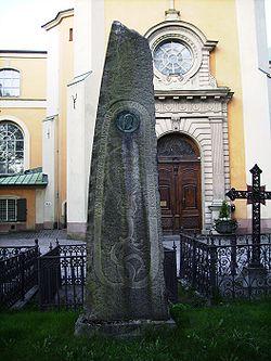 Ivar Hallström's tomb.