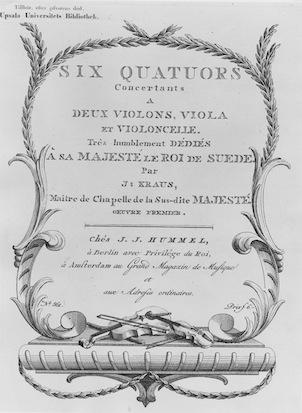 Title page of Six Quators.