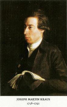 Joseph Martin Kraus.