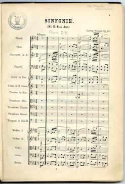 Opening, Symphony no. 2.