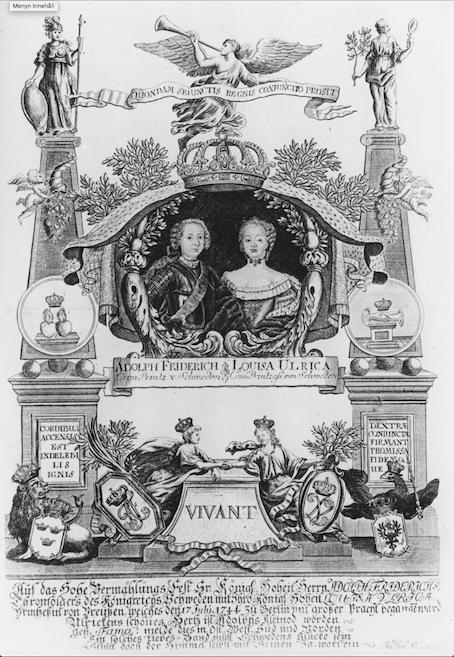 Adolf Fredrik and Lovisa Ulrika.