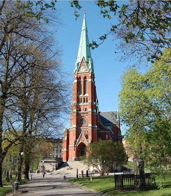 St John's Church, Stockholm.