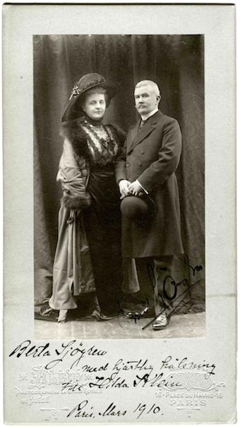 Emil and Berta Sjögran.