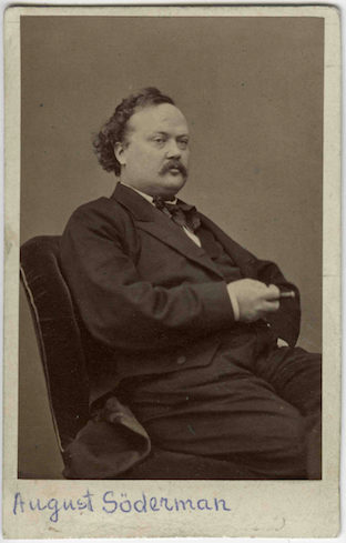 August Söderman, 1860s.